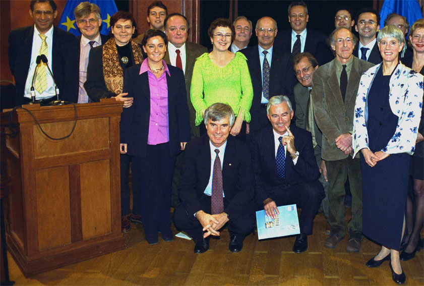Award ceremony for the René Descartes Prize by Philippe Busquin, Member of the EC
