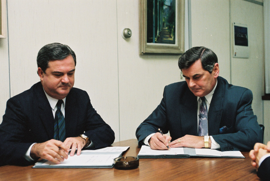 Signing of the LEADER agreements for Portugal and Spain