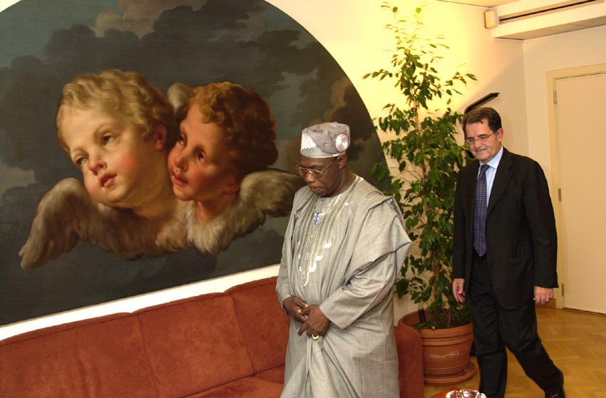Visit of Obasanjo Olusegun, President of Nigeria, to the EC