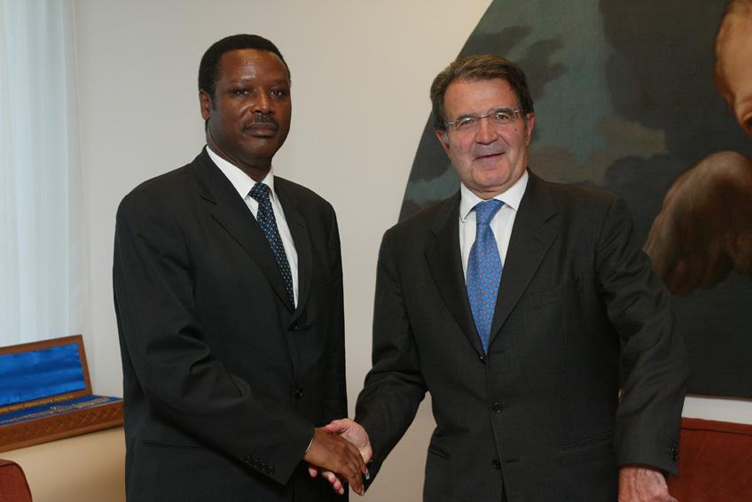 Visit of Pierre Buyoya, President of Burundi, to the EC