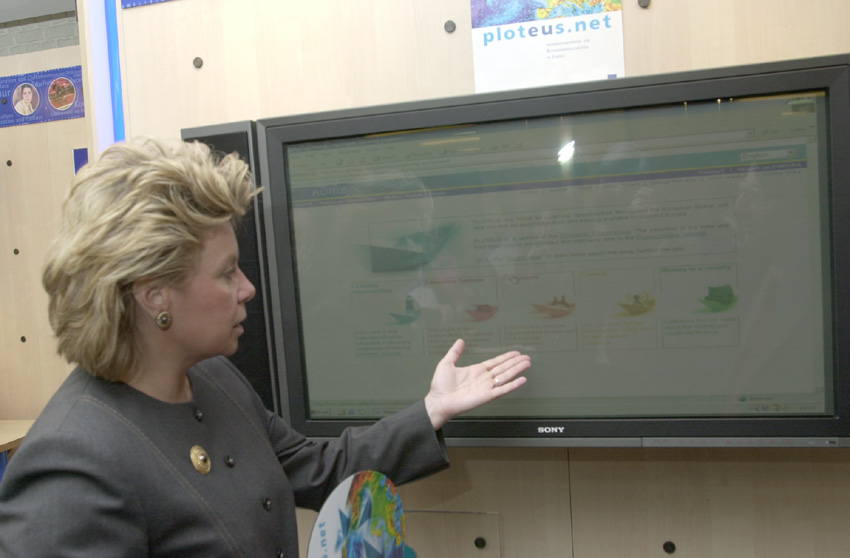 The launch of the PLOTEUS internet portal by Viviane Reding, Member of the EC