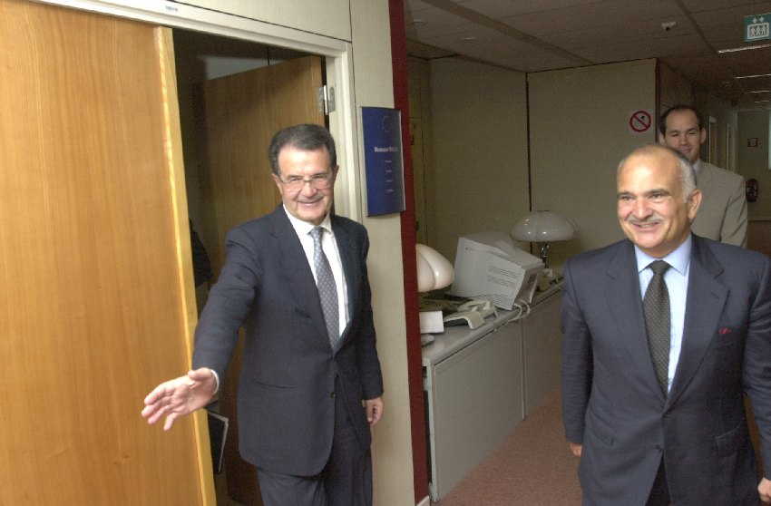 Visit of Hassan ibn Talal, Prince of Jordan, to the EC