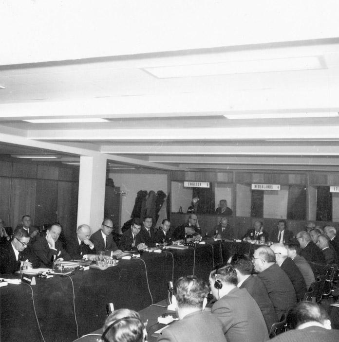 Trade negotiations between the EEC and Israel