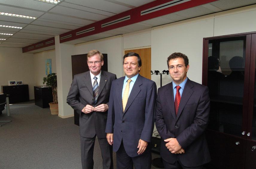 Visite of representatives of the Cogeca and COPA, to the EC
