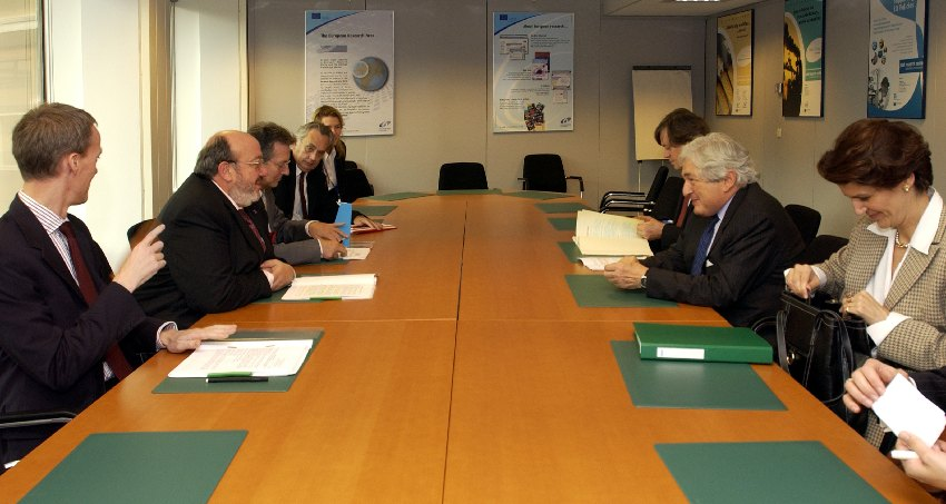 Visit by James D. Wolfensohn, President of the World Bank, to the EC