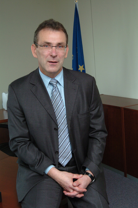 Andris Piebalgs, Member designate of the EC in charge of Energy