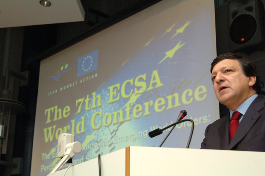 Participation of José Manuel Barroso, President of the EC, at the 7th ECSA world conference