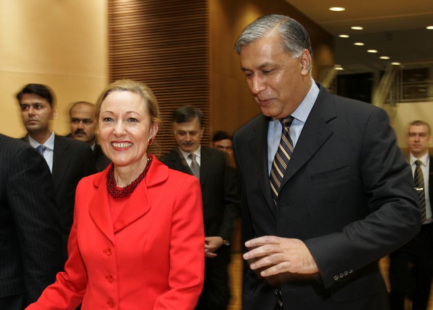Visit of Shaukat Aziz, Pakistani Prime Minister, to the EC