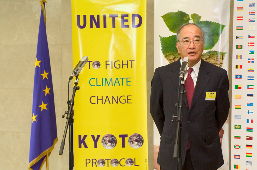 Press conference by Stavros Dimas, Member of the EC, on the entry into force of the Kyoto Protocol