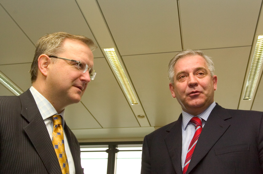 Visit of Ivo Sanader, Croatian Prime Minister, to the EC