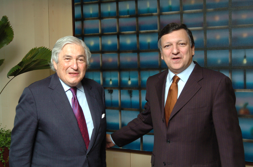 Visit of James D. Wolfensohn, President of the World Bank, to the EC