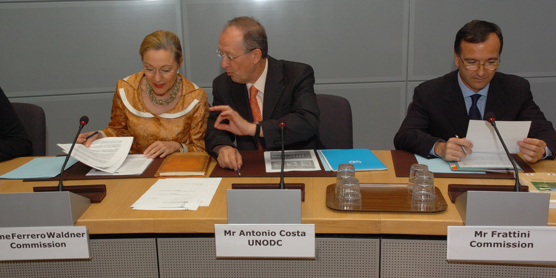 Visit of António Maria Costa, Executive Director of United Nations Office on Drugs and Crime, to the EC