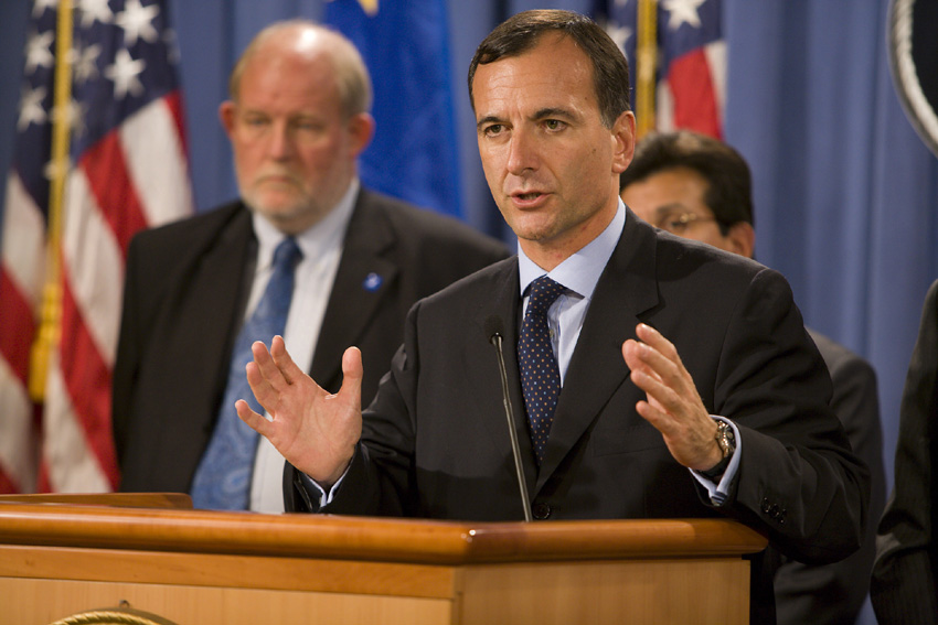 Visit of Franco Frattini, Vice-President of the EC, to the United States