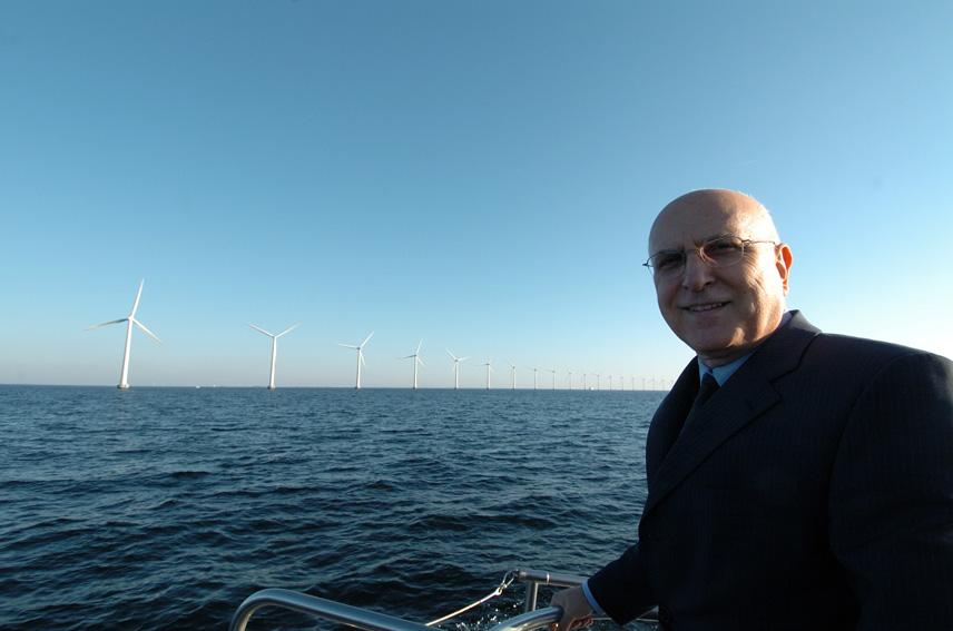 Stavros Dimas, Member of the EC, in Denmark