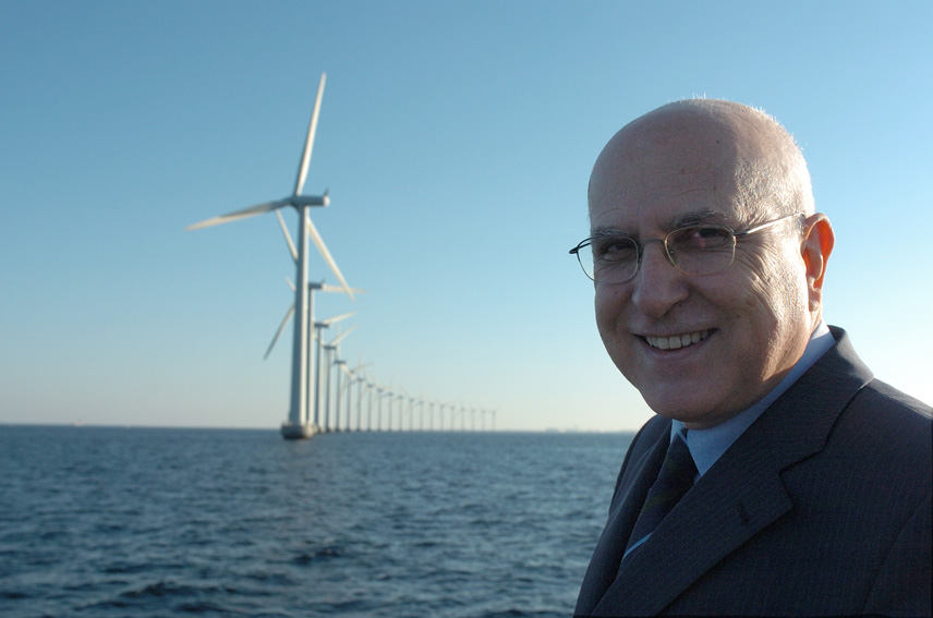 Stavros Dimas, Member of the EC, in Denmark