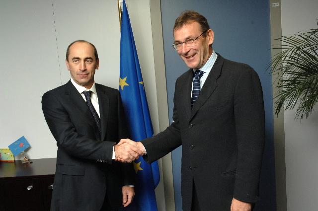 Visit by Robert Kocharyan, President of Armenia, to the EC