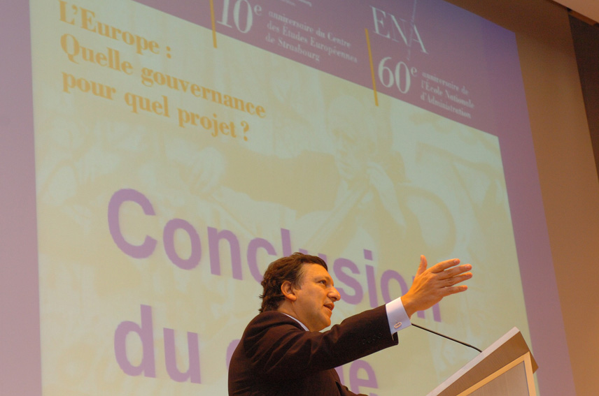 Speech by José Manuel Barroso, President of the EC, at the 60th anniversary of the ENA