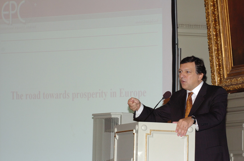 Speech of José Manuel Barroso, President of the EC, at the