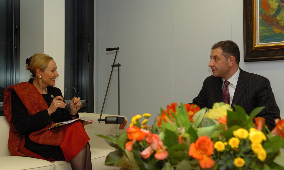 Visit by Zurab Nogaideli, Georgian Prime Minister, to the EC