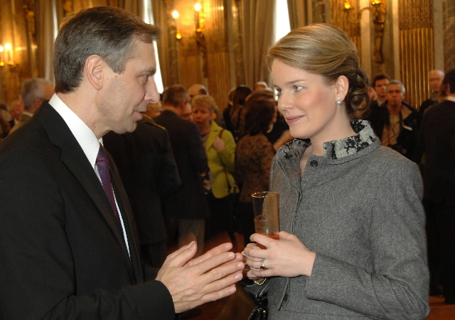 Presentation of New Year's greetings of the Barroso I Commission to Albert II, King of the Belgians
