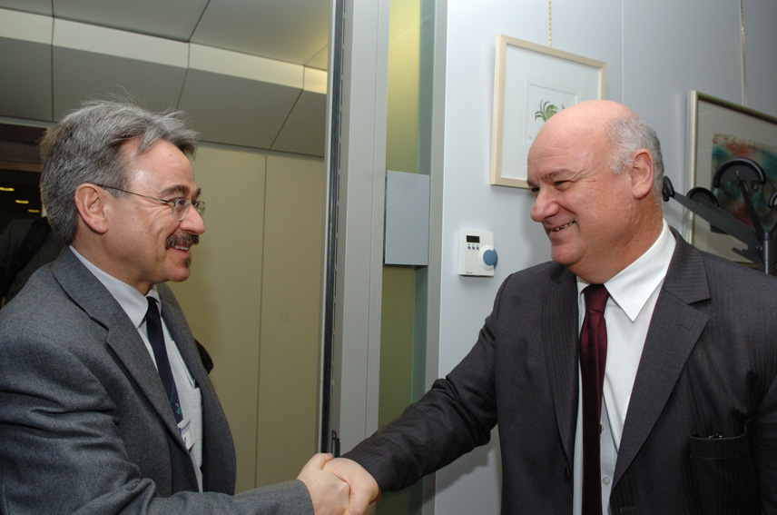 Visit by Gerd Hubold, Secretary General of the International Council for the Exploration of the Sea, to the EC