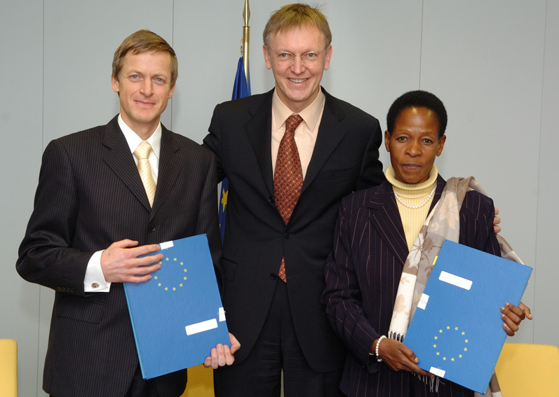 Signature of an UN/EU agreement on sustainable urban development
