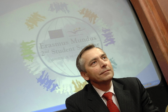 Launch of the Erasmus Mundus programme of master's 2006-2007 by Ján Figel', Member of the EC