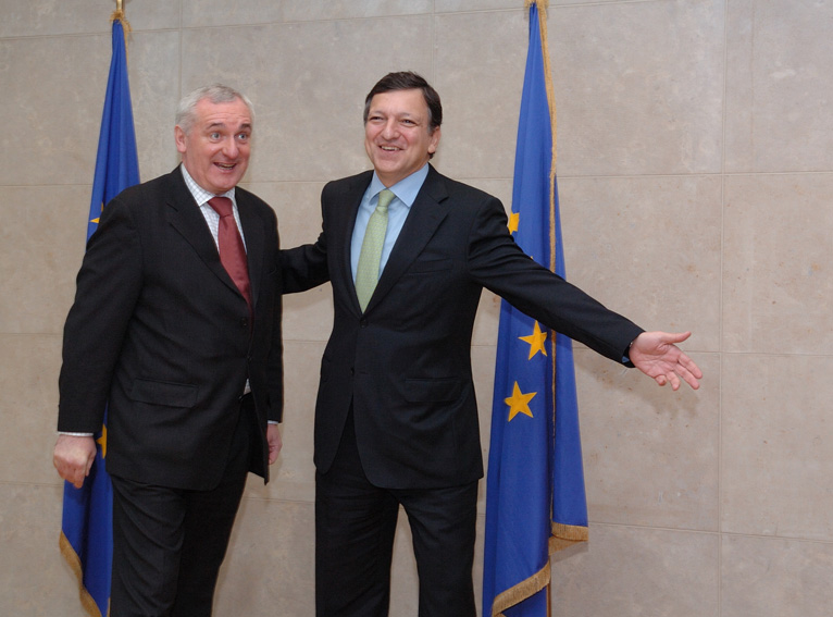 Visit by Bertie Ahern, Irish Prime Minister, to the EC