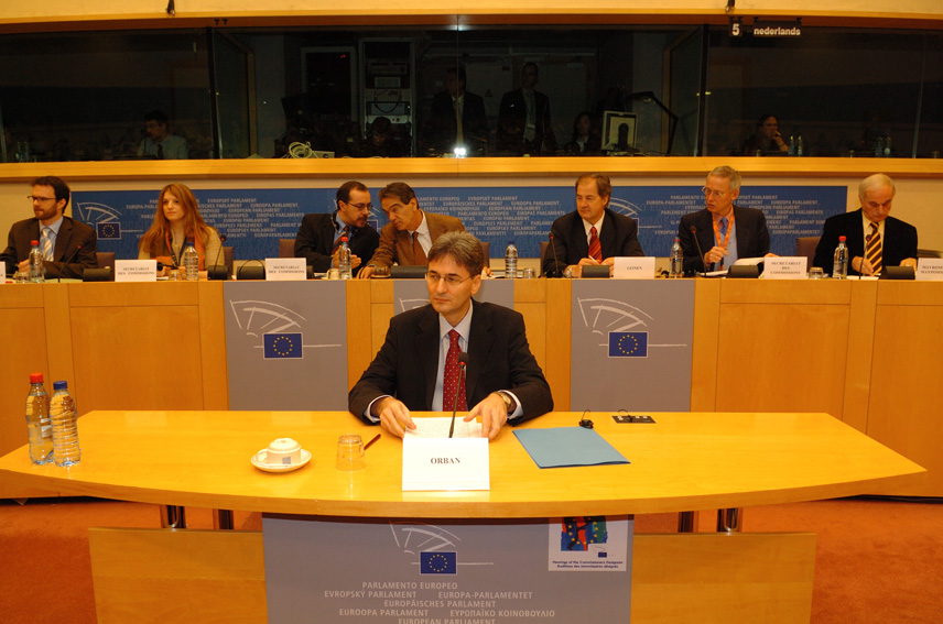 Audition by the EP of Leonard Orban, Member designate of the EC