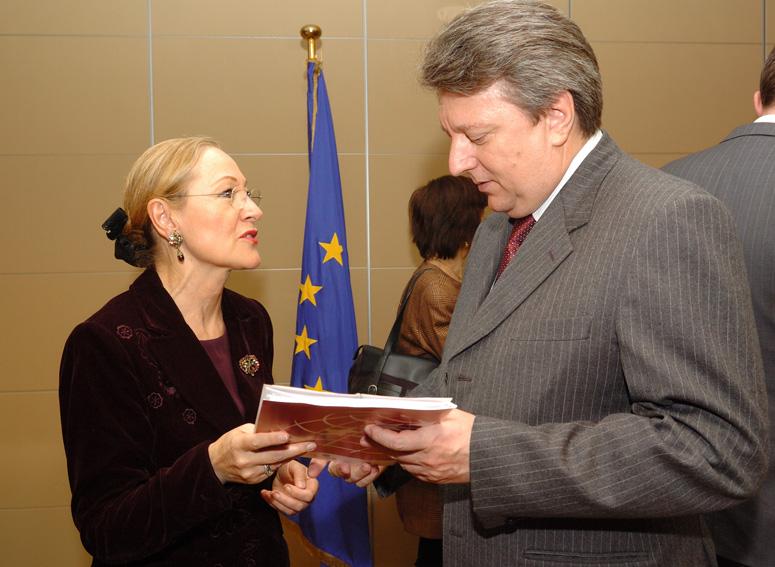 Visite des ambassadeurs des pays concernés par la politique européenne de voisinage (PEV), à la CE