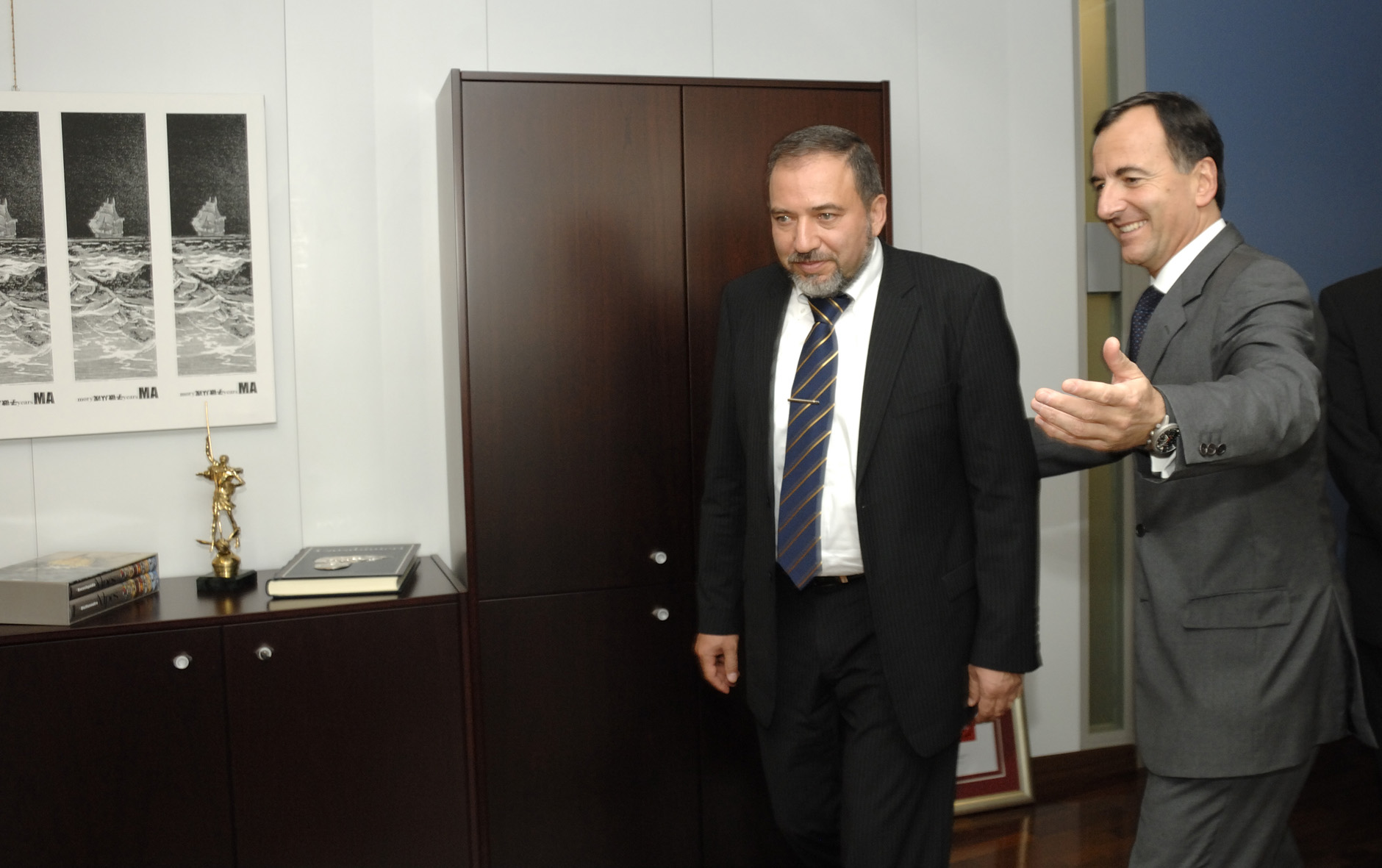 Visit by Avigdor Liberman, Israeli Deputy Prime Minister and Minister for Strategic Affairs, to the EC
