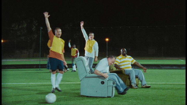 Go on, get out of your armchair: TV campaign promoting physical activity
