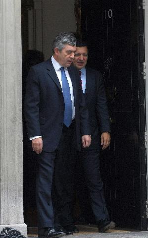 Visit by José Manuel Barroso to Gordon Brown, British Prime Minister