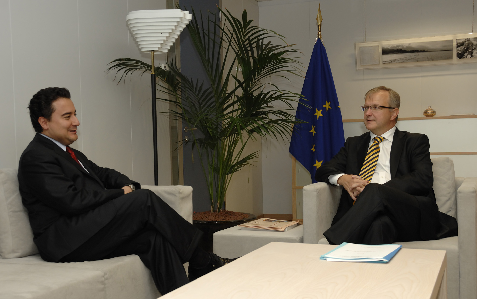 Visit by Ali Babacan, Turkish Minister for Economy, to the EC