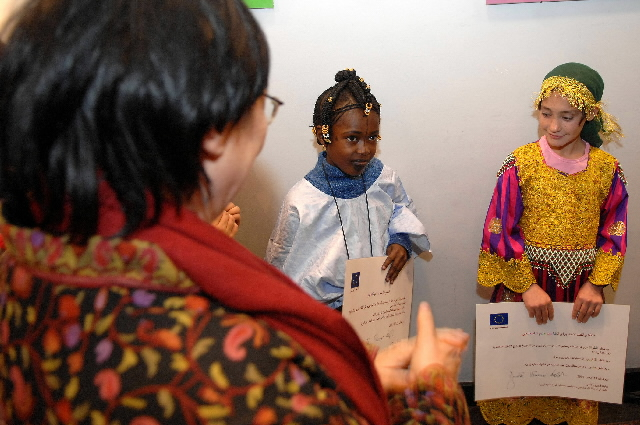 Opening of exhibition of children's art