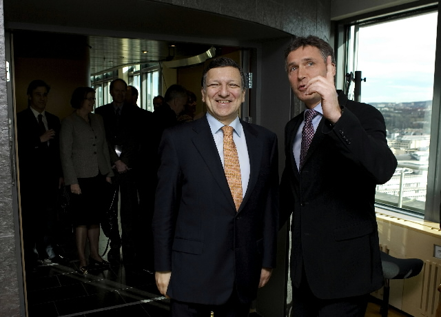 Visit by José Manuel Barroso, President of the EC, to Norway