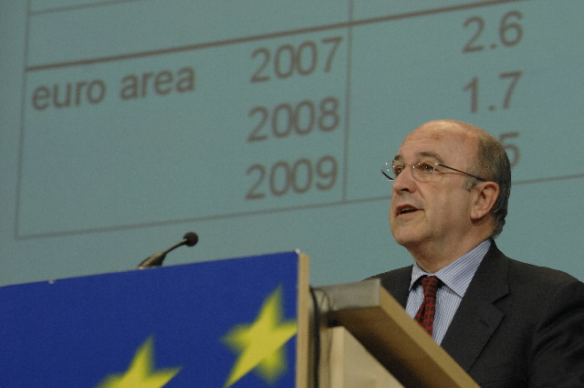 Press conference by Joaquín Almunia, Member of the EC, on the 2008-2009 economic forecast