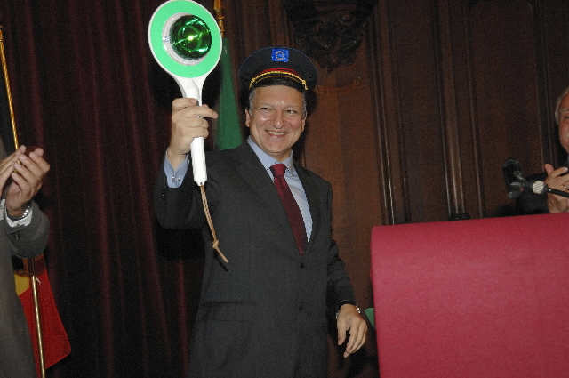 Participation of José Manuel Barroso in the Community of European Railways and Infrastructure Companies (CER) celebrations
