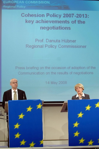 Press conference by Danuta Hübner and Vladimír Špidla, Members of the EC, on the Cohesion Policy for 2007-2013