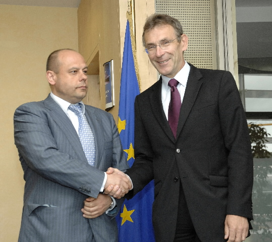 Visit of Yuriy Prodan, Ukrainian Minister for Fuel and Energy, to the EC