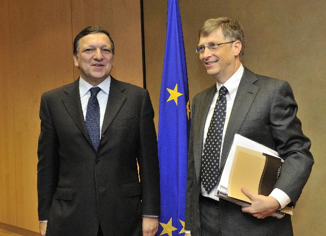 Visit of Bill Gates, Co-Chairman of the Bill and Melinda Gates Foundation, to the EC