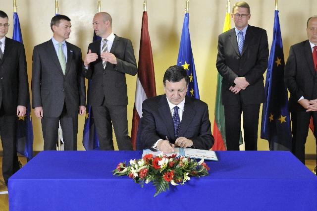 Signature of a Memorandum of Understanding on the Baltic Energy Market Interconnection Plan