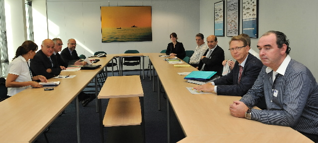 Visit of a delegation of the IRMFVA to the EC