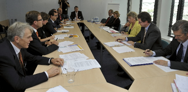 Visit of the CEOs of the the European Competitive Telecoms Association to the EC