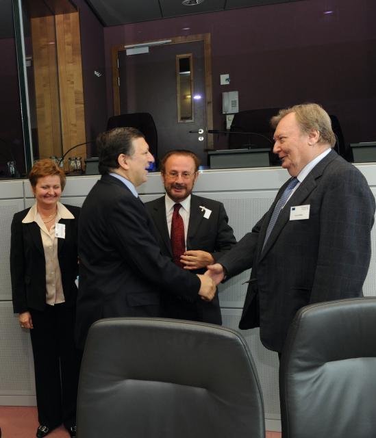 Visite du groupe consultatif d'experts de l'énergie et du changement climatique à la CE