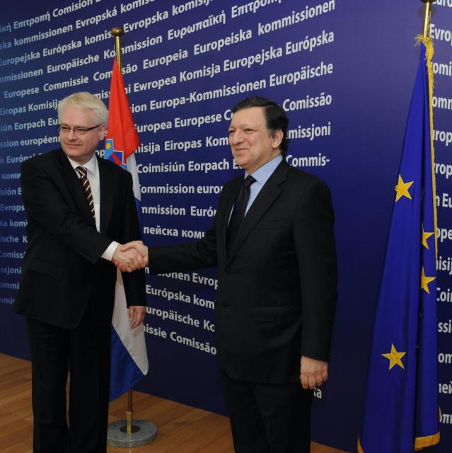 Visit of Ivo Josipović, President of Croatia, to the EC