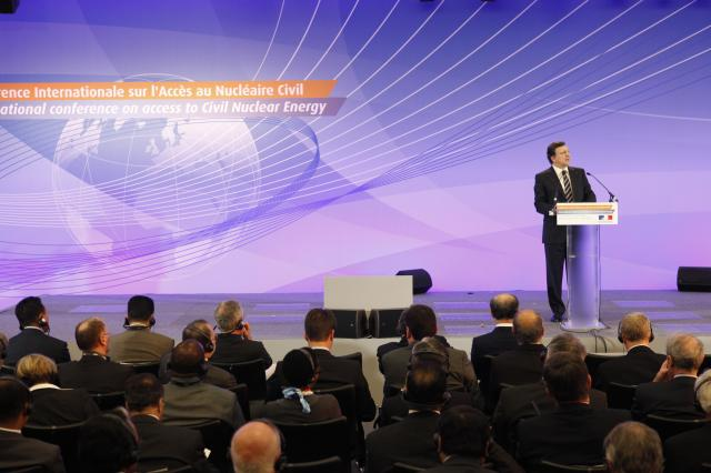 Participation of José Manuel Barroso, President of the EC, at the International Conference on Access to Civil Nuclear Energy