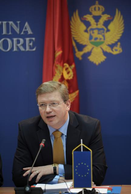 Visit of Štefan Füle, Member of the EC, to Serbia, Montenegro and Bosnia and Herzegovina