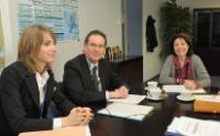Visit of Alain Cadec, Member of the EP, to the EC