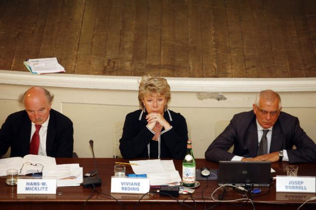 Participation of Viviane Reding, Vice-President of the EC, in the Conference A European Law Institute? Towards Innovation in European Legal Integration organized by the European University Institute (EUI)